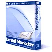 Email Marketer software box